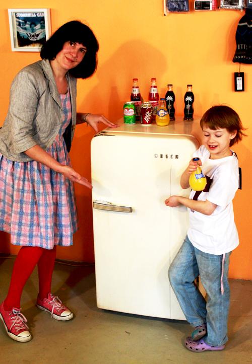 Bosch Kühlschrank vintage