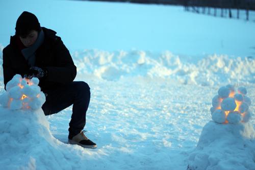 schneelaterne