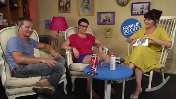 Clemens Haipl bei Familie Rockt