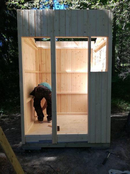 werkzeughütte selber bauen