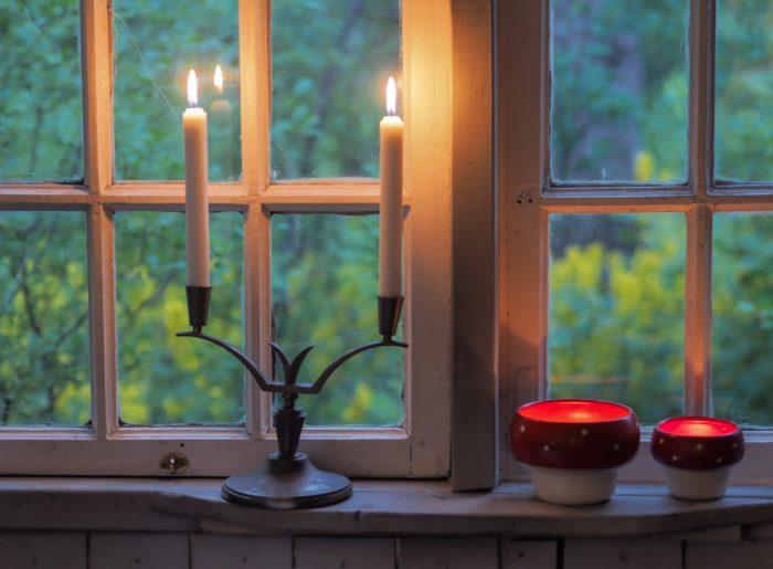 Kerzenständer Zinn